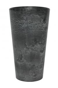 Кашпо artstone claire vase black d28 h49 см