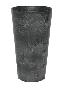 Кашпо artstone claire vase black d42 h90 см