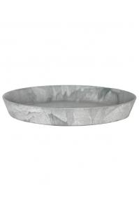 Поддон artstone saucer round grey d26 h4 см
