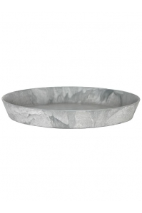 Поддон artstone saucer round grey d30 h4 см