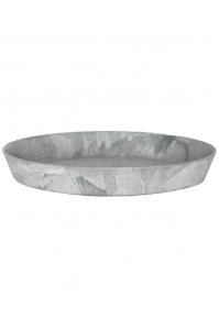 Поддон artstone saucer round grey d32 h5 см