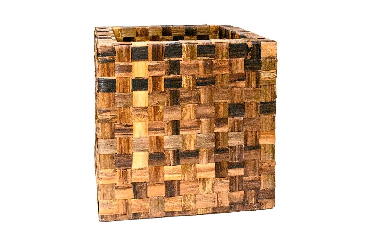 Кашпо bananaplanter cube braun l56 w56 h56 см