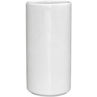 Кашпо blend cylinder glossy white d40 h80 см