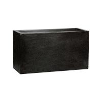 Кашпо capi lux middle envelope i black l64 w25 h35 см