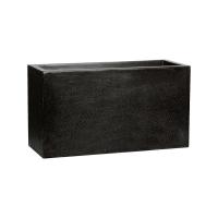 Кашпо capi lux middle envelope i black l80 w32 h44 см