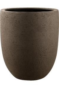 Кашпо struttura tall egg pot light brown d88 h103 см