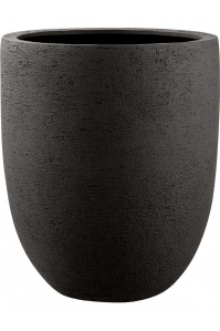 Кашпо struttura tall egg dark brown d88 h103 см