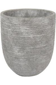 Кашпо d&m indoor pot rough gray (per 4 pcs.) d14 h15 см