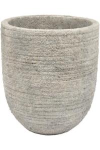 Кашпо d&m indoor pot rough taupe (per 4 pcs.) d18 h21 см