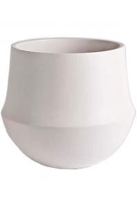 Кашпо d&m indoor pot fusion white d24 h22 см