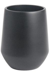 Кашпо d&m indoor vase fusion black d16 h20 см