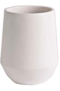 Кашпо d&m indoor vase fusion white (per 2 pcs.) d18 h26 см