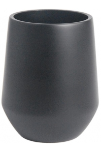 Кашпо d&m indoor vase fusion black d18 h26 см