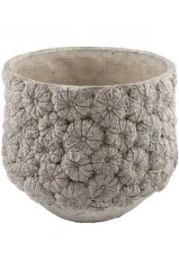 Кашпо d&m indoor pot itch light gray d37 h30 см