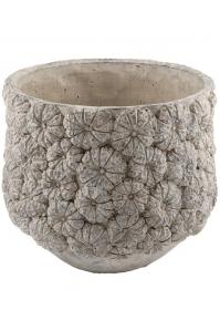 Кашпо d&m indoor pot itch light gray d45 h36 см