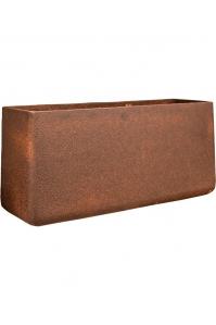 Кашпо d&m outdoor pot cave rust d30 l85 w30 h40 см