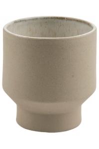 Кашпо d&m indoor pot first cream (per 4 pcs.) d14 h15 см