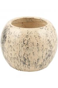 Кашпо d&m indoor pot dabble black d40 h30 см