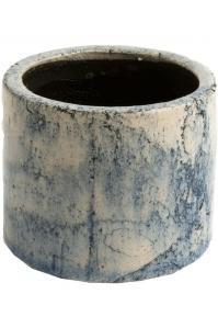 Кашпо d&m indoor pot fracture petrol (per 2 pcs.) d21 h20 см