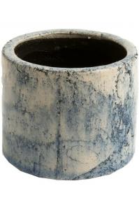 Кашпо d&m indoor pot fracture petrol (per 2 pcs.) d30 h28 см