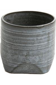 Кашпо d&m indoor pot chop lavender (per 3 pcs.) d20 h19 см