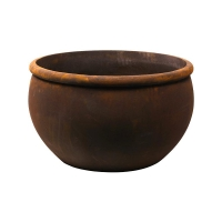 Кашпо empire (grc) bowl rusty d73 h43 см