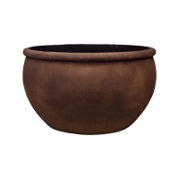 Кашпо empire (grc) bowl rusty d93 h54 см