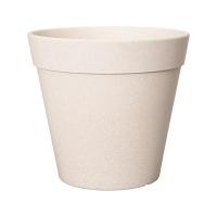Кашпо fibrics bamboo straight white (per 16 pcs.) d18 h16 см