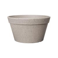 Кашпо fibrics bamboo bowl grey (per 6 pcs.) d30 h16 см