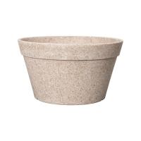 Кашпо fibrics bamboo bowl sand (per 6 pcs.) d30 h16 см