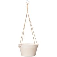 Кашпо подвесное fibrics bamboo basket white (per 6 pcs.) d25 h14 см