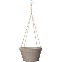 Кашпо подвесное fibrics bamboo basket grey (per 6 pcs.) d25 h14 см