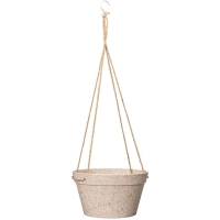 Кашпо подвесное fibrics bamboo basket sand (per 6 pcs.) d25 h14 см