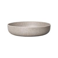 Кашпо fibrics bamboo flat bowl grey (per 12 pcs.) d30 h7 см