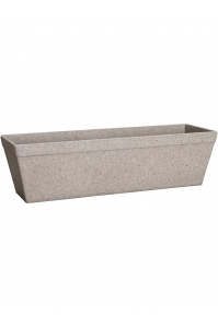 Кашпо fibrics bamboo trough grey (per 12 pcs.) l33 w11 h9 см