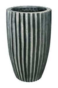 Кашпо sahara black stripes d45 h75 см