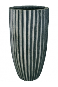 Кашпо sahara black stripes d50 h100 см