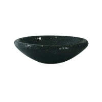 Кашпо one bowl black d35 h10 см