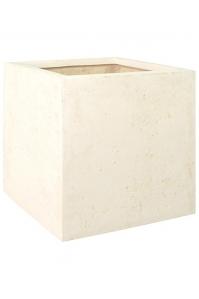 Кашпо square cream l40 w40 h40 см