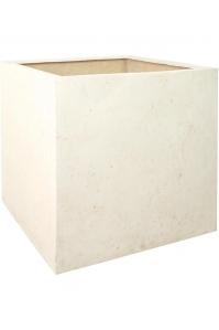Кашпо square cream l60 w60 h60 см