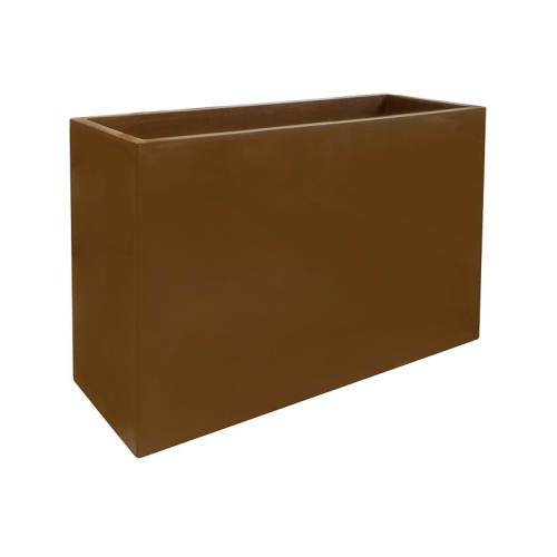 Кашпо inspiration block hazelnuth browny l90 w35 h60 см