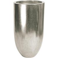 Кашпо pandora silver leaf d50 h90 см