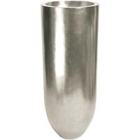 Кашпо pandora silver leaf d50 h125 см