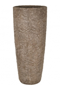 Кашпо rocky sepia granite d43 h100 см