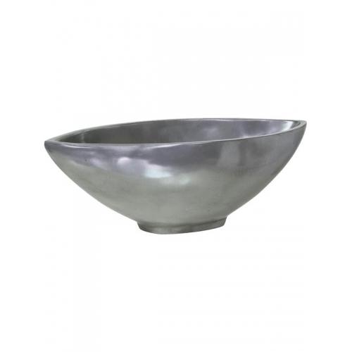 Кашпо loft bowl aluminium l51 w24 h17 см