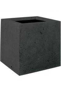 Кашпо square anthracite l30 w30 h30 см