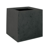 Кашпо square anthracite l30 w30 h30 см