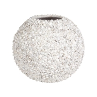 Кашпо beach planter shell white d50 h40 см