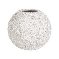 Кашпо beach planter shell white d50 h40 см