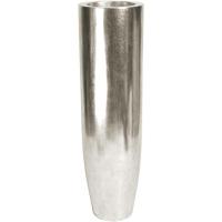 Кашпо pandora silver leaf d35 h125 см